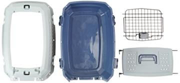 AmazonBasics Transportbox für Haustiere, 2 Türen, 1 Dachöffnung, 58cm - 7
