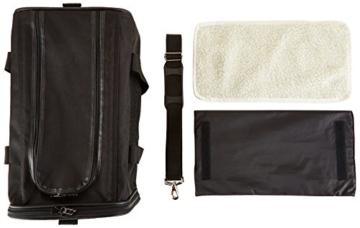 AmazonBasics Transporttasche für Haustiere, weiche Seitenteile, Schwarz, Größe M - 8