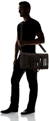 AmazonBasics Transporttasche für Haustiere, weiche Seitenteile, Schwarz, Größe M - 9