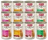 animonda Carny Adult Katzenfutter, Nassfutter für ausgewachsene Katzen, Mix 2, 12 x 400 g - 1