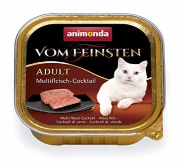 animonda Vom Feinsten Adult Katzenfutter, Nassfutter für ausgewachsene Katzen, kastrierte Katze Geflügel-Kreation Mix, 32 x 100 g - 3