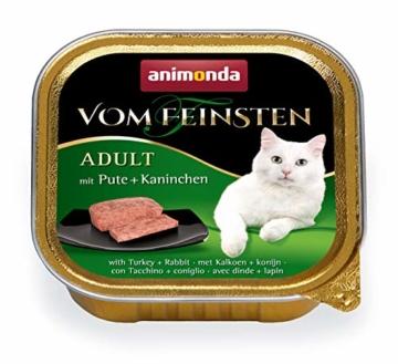 animonda Vom Feinsten Adult Katzenfutter, Nassfutter für ausgewachsene Katzen, kastrierte Katze Geflügel-Kreation Mix, 32 x 100 g - 4