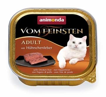animonda Vom Feinsten Adult Katzenfutter, Nassfutter für ausgewachsene Katzen, kastrierte Katze Geflügel-Kreation Mix, 32 x 100 g - 5