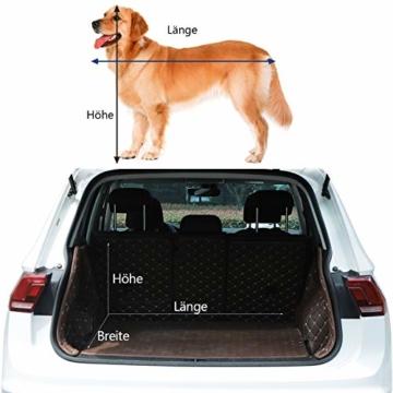 EUGAD 0329GL Hundebox faltbar Hundetransportbox Auto Transportbox Reisebox Katzenbox Grau 91,4 x 63,5 x 63,5 cm - 2