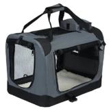 EUGAD Hundebox faltbar Hundetransportbox Auto Transportbox Reisebox Katzenbox 0112HT - 1