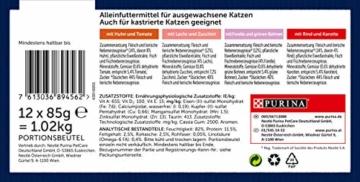 Felix Katzennassfutter So gut wie es aussieht in Gelee Gemischte Vielfalt mit Gemüse, 6er Pack (6 x 12 x 85g) Portionsbeutel - 2