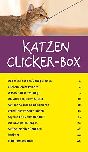 Katzen Clicker-Box gelb 12 x 3,5 cm: Plus Clicker für sofortigen Spielspaß (GU Tier-Box) - 12