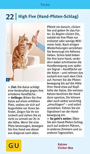 Katzen Clicker-Box gelb 12 x 3,5 cm: Plus Clicker für sofortigen Spielspaß (GU Tier-Box) - 13