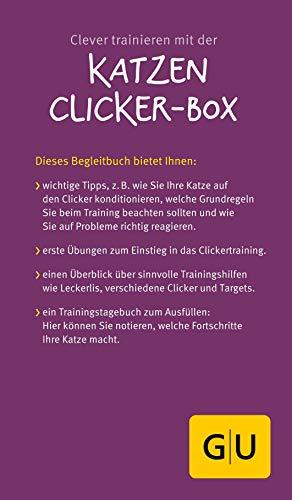Katzen Clicker-Box gelb 12 x 3,5 cm: Plus Clicker für sofortigen Spielspaß (GU Tier-Box) - 19
