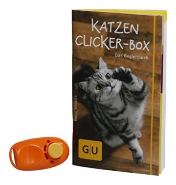 Katzen Clicker-Box gelb 12 x 3,5 cm: Plus Clicker für sofortigen Spielspaß (GU Tier-Box) - 22