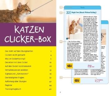 Katzen Clicker-Box gelb 12 x 3,5 cm: Plus Clicker für sofortigen Spielspaß (GU Tier-Box) - 4