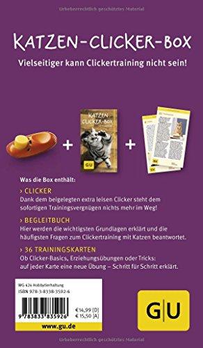 Katzen Clicker-Box gelb 12 x 3,5 cm: Plus Clicker für sofortigen Spielspaß (GU Tier-Box) - 6