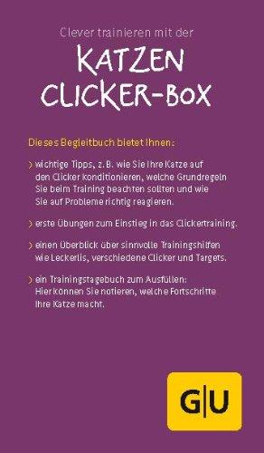Katzen Clicker-Box gelb 12 x 3,5 cm: Plus Clicker für sofortigen Spielspaß (GU Tier-Box) - 10