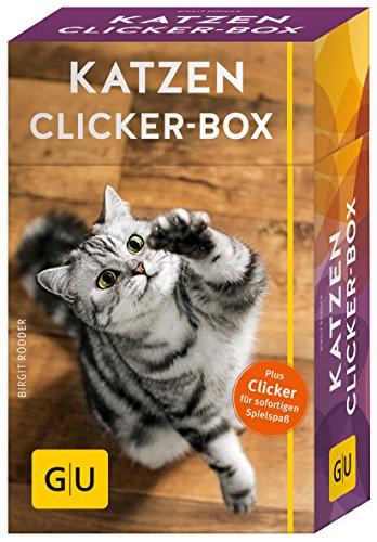 Katzen Clicker-Box gelb 12 x 3,5 cm: Plus Clicker für sofortigen Spielspaß (GU Tier-Box) - 1