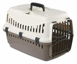 Kerbl 81346 Transportbox Expedion mit Kunstoff, 45 x 30 x 30 cm, taupe/creme - 1