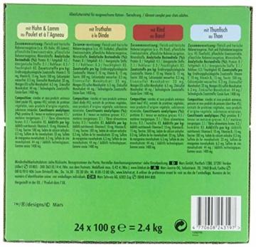 Kitekat Katzenfutter Nassfutter Markt Mix in Gelee, 48 Portionsbeutel (2 x 24 x 100g) - 4