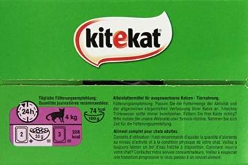 Kitekat Katzenfutter Nassfutter Markt Mix in Gelee, 48 Portionsbeutel (2 x 24 x 100g) - 5