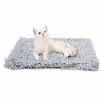 Legendog Bett für Katze,Hundekissen Flauschig Katzenbett Set mit Decke,Rutschfestes und Weiches Rundes Katzen Schlafsofa Katze Schlafen Betten für Katzen und Welpen - 8