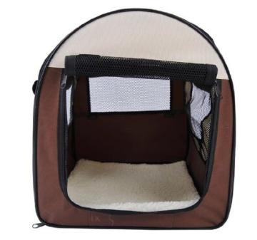 PawHut Stabile, faltbare Transporttasche für kleine Hunde, Welpen, Katzen und andere Kleintiere! Größe S - 3