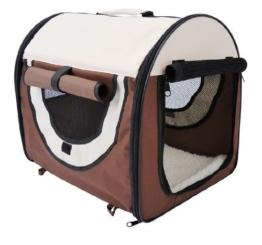 PawHut Stabile, faltbare Transporttasche für kleine Hunde, Welpen, Katzen und andere Kleintiere! Größe S - 1