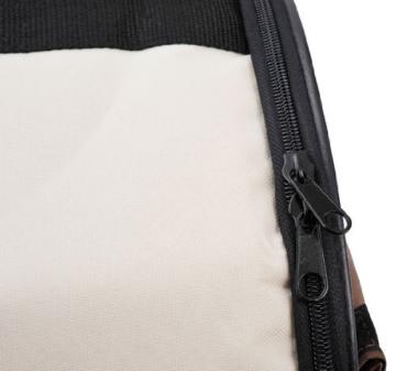 PawHut Stabile, faltbare Transporttasche für kleine Hunde, Welpen, Katzen und andere Kleintiere! Größe S - 6