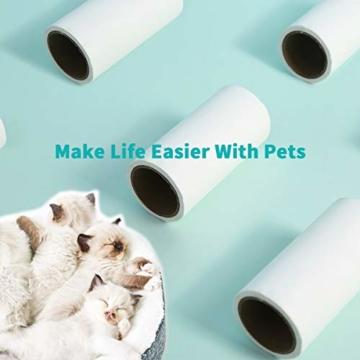 PETKIT Klebewalze zum Entfernen von Katzen Hundehaaren von Sofas, Laken und Möbeln 180pcs (Ersatz) - 5