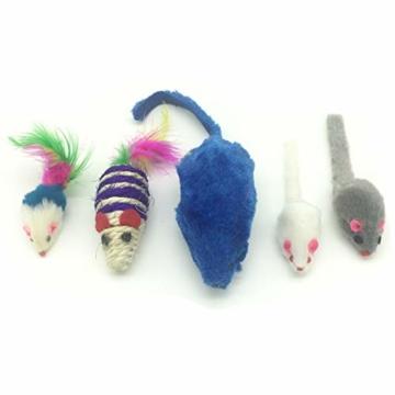 PietyPet Katzenspielzeug, Katze Toys Variety Pack, Spielzeug für Katzen Kitty 15 Stück - 7