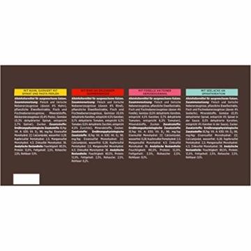 PURINA GOURMET A la Carte Katzenfutter nass, Sorten-Mix, 60er Pack (60 x 85g) - 2