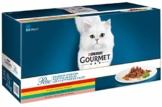PURINA GOURMET Perle Erlesene Streifen Katzenfutter nass, Sorten-Mix, 60er Pack (60 x 85g) - 1