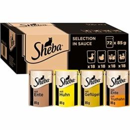 Sheba Selection in Sauce – Katzenfutter im Frischepack – Nassfutter für die täglichen Verwöhnmomente - 1