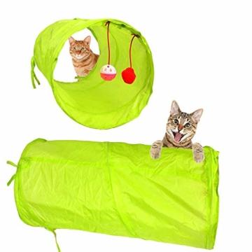 Sunshine smile katzenspielzeug Set mit katzentunnel,Katzenspielzeug Set mit Bälle Federspielzeug,katzenspielzeug Pack,Kätzchen Maus Spielzeug Set,Katze Toys Variety Pack (21 Pack) - 7
