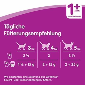 Whiskas 1 + Katzenfutter , Geflügel-Auswahl in Gelee, 120 x 100g - 2